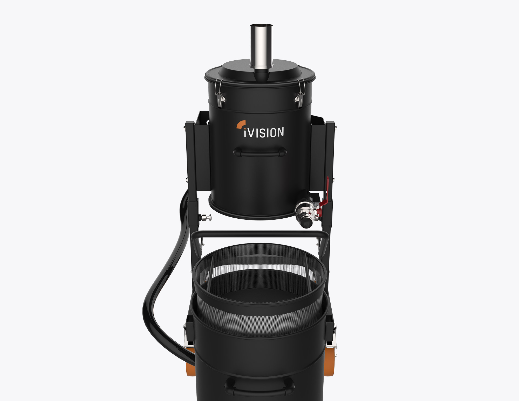 iV2 EMULSIO - Industrial Vacuum Cleaner for Oil and Metal