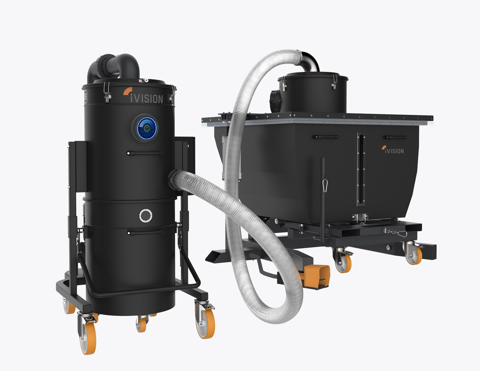 Attractive IV CUSTOM EMULSIO  Industrial Vacuum Cleaner For Separating Oil And Metal  Chips  IVision