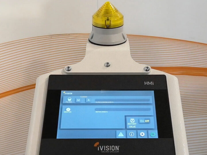Smart industrial vacuum cleaners: when technology is at the service of the workshop